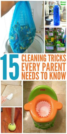 The cleaning tips. tricks and hacks they don't tell you about that will change the way you do ordinary parenting tasks