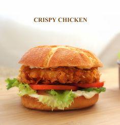 Hamburguesa de Pollo al Estilo Crispy Chicken. Cocinando con las chachas Blog.