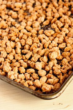 Homemade Beer Nuts - afarmgirlsdabbles.com