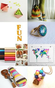Get something colorful by Mireia on Etsy--Pinned with TreasuryPin.com