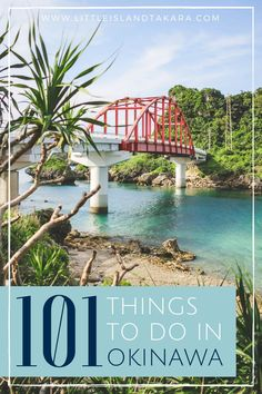 Moving to Okinawa? Here's a list of - 101 Things To Do In Okinawa, Japan - that will help you make the best of your time on island! // http://littleislandtakara.com