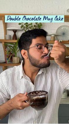 Mug Recipes, Fun Baking Recipes, Coffee Recipes, Snack Recipes, Cooking Recipes, Chocolate Dishes, Indian Dessert Recipes, Vegetarian Snacks, Milkshake