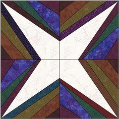 string star quilt block tutorial