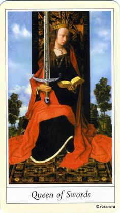 Queen - Lovers' Tarot by Jane Lyle and Oliver Burston
