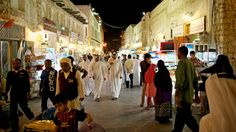 Souq Waqif, the standing market, in Doha, Qatar. Photo by James Duncan Davidson