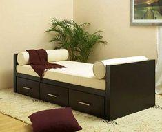 Bedroom Cupboard Designs, Wardrobe Design Bedroom, Bedroom Bed Design, Bedroom Furniture Design, Sofa Furniture, Diwan Furniture, Bedroom Ideas, Sofa Bed Design, Living Room Sofa Design