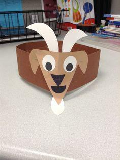 Goat hat craft