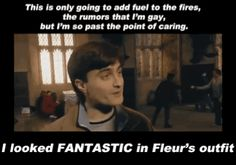 You sure did Daniel, haha #harrypotter #danielradcliffe