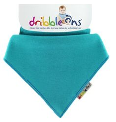 Dribble Ons Baby Bandanna Bibs Keep Babies Dry Turquoise >>> Check out the image by visiting the link.Note:It is affiliate link to Amazon.