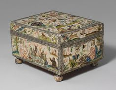 Cabinet with personifications of the Five Senses [English] (29.23.1) | Heilbrunn Timeline of Art History | The Metropolitan Museum of Art