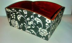 Decoupage gift box