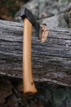 How To Chop Down A Tree With A Small Axe http://thefansbeenhit.com/chopping-down-a-big-tree-with-a-small-axe/ #Survival   #Axe
