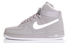 "Nike Air Force 1 High ""3M"" – Medium Grey / White"