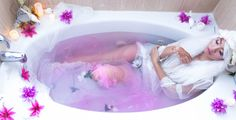 'Dipped in Lavender Dreams' by Jenna DeNatale on Whim Online Magazine