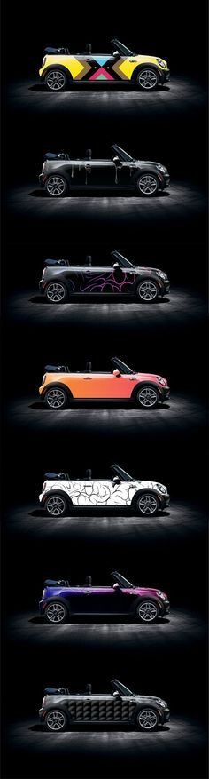 Mini wraps. Very cool. My little dream car. Someday...