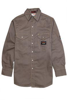 43763746a83d Rasco FR Heavyweight Twill Work Shirts - 5 Colors