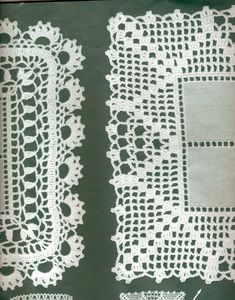 Toca do tricot e crochet Crochet Blanket Border, C2c Crochet, Crochet Borders, Crochet Home, Filet Crochet, Baby Knitting Patterns, Loom Knitting, Crochet Patterns, Crochet Tablecloth