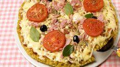 Pizza de Muçarela com Presunto