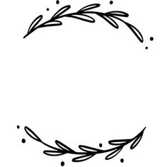 Silhouette Design Store: Wreath With Leaves Silhouette Design, Silhouette Cameo Projects, Boarder Designs, Doodle Frames, Cricut Creations, Leaf Design, Clipart, Cricut Design, Embroidery Patterns