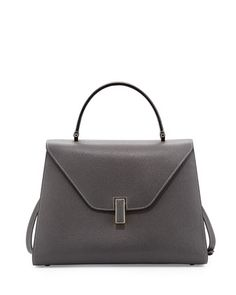 Leather+Flap-Top+Satchel+Bag+by+Valextra+at+Bergdorf+Goodman.