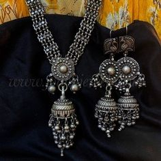Necklace/ Earrings Parchayi Antique Jewellery, Antique Rings, Bangles, Antiques, Pendant, Earrings, Jewelry, Fashion, Ancient Jewelry