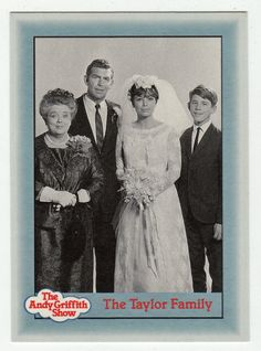 Andy Griffith Show Series 1 # 52 - The Taylor Family