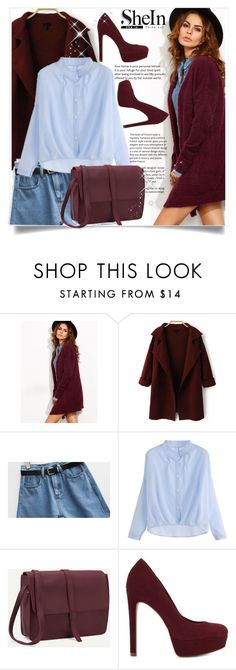 """SheIn 9"" by amrafashion ❤ liked on Polyvore featuring ALDO"
