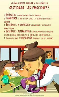 ¿Cómo puedes ayudar a los niños a gestionar las emociones de forma positiva