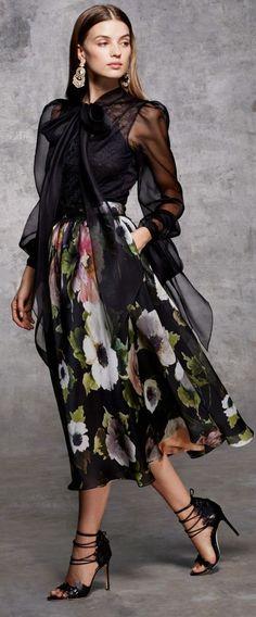 26f8cf2a89 LOJA DO CHINÊS Mode Femmes Chics, Floral Fashion, Love Fashion, Passion For  Fashion