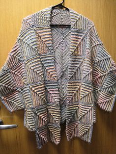 Ravelry: Coco Vee Cape pattern by Jane Slicer-Smith