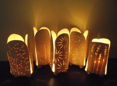 Pottery as tealights