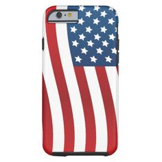 American Flag iPhone 6 Tough iPhone 6 Case