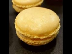MACARONS CITRON - YouTube Macarons, Mousse, Hamburger, Bakery, Pie, Bread, Breakfast, Desserts, Recipes