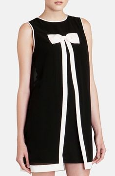 Buy Ted Baker Women's Black 'Josa' Bow Swing Dress, starting at Similar products also available. Little Dresses, Cute Dresses, London Outfit, Ted Baker Womens, Dressed To The Nines, Diy Dress, Nordstrom Dresses, Swing Dress, Autumn Fashion