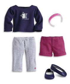 Another great find on #zulily! Coconut Fun Outfit for 18'' Doll by American Girl® #zulilyfinds