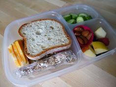 Wednesday Lunch: Apple & Fennel with Leftover Chicken Salad, cucmbers, almonds, cheese
