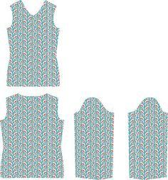 Materialien: * Jersey Froy & Dind - Nice Grey (Breite 140cm)  - 140 cm ( Größe 34 )  - 145 cm ( Größe 36 )  - 145 cm ( Größ...