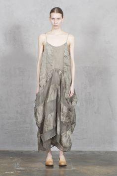 18UMA LIGHT GREY PAULE DRESS by UMA WANG