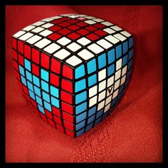 Happy Valentines Day Rubik's Cube - twistypuzzles - Colin