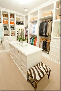 Walk-in closet but with dark wood cabinets.. Show builder to see if it can fit in floor plan!