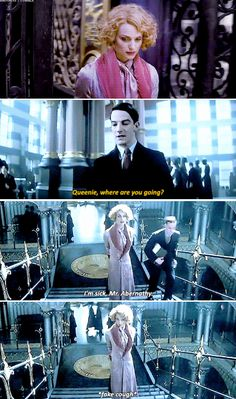 Fantastic Beasts - Queenie, where are you going?