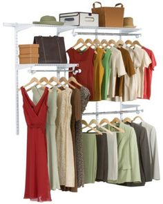Rubbermaid Configurations Starter Closet Kit - White)