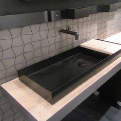 Encimeras de lavabos de cemento que marcan una línea innovadora y estilosa…