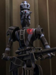 an Assassin Droid Droides Star Wars, Star Wars Film, Battle Droid, Star Wars Pictures, Star Wars Characters, Character Design References, Boba Fett, Clone Wars, For Stars