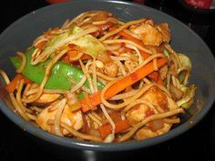 """Bami Goreng """"ORIGINAL"""" - Over free recipes in the largest recipe collection on the German-language Internet. Noodle Recipes, Seafood Recipes, Asian Recipes, Mexican Food Recipes, Ethnic Recipes, Hamburger Meat Recipes, Meatloaf Recipes, Cheap Meals, Easy Meals"""