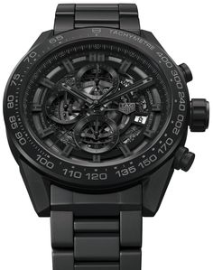 TAG Heuer Carrera Heuer-01 Full Black Matt Ceramic Watch For CHF7,000 Watch Releases