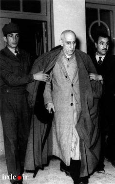 Mossadeq es llevado a juicio por los golpistas.