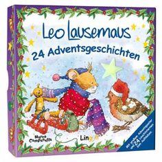 Wie alle Kinder wartet Leo Lausemaus sehnsüchtig auf den ersten Schnee und besonders auf Weihnachten ..... Mit diesen 24 Geschichten bringt Leo Lausemaus uns den Zauber der Vorweihnachtszeit näher und erzählt uns vom Schlittenfahren, Plätzchenbacken, der Überraschung für den Nikolaus und wie er einen ganz besonderen Weihnachtsbaum findet.