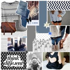 """""""Think Different ."""" by heyyitskim ❤ liked on Polyvore"""