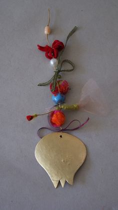 #christmans craft#  #christmansgift# pon-pon plastic and textiles,Details,cute gifts by Agapi Stilianoudaki